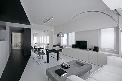 Thiết kế và thi công nội thất penthouse sang trọng theo phong cách Hitech sáng tạo