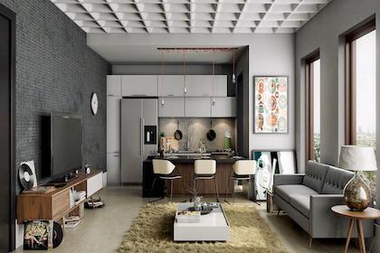 Thi công nội thất nhà phố sang trọng nhờ 5 mẹo giúp cơi nới không gian