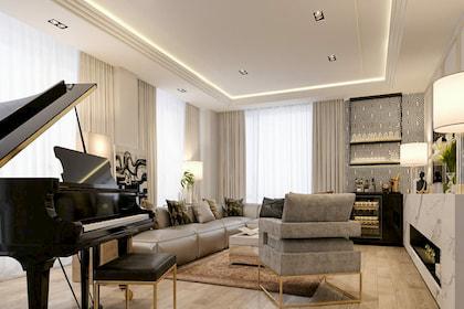 Xu hướng thiết kế nội thất penthouse Luxury và 5 đặc trưng làm nên đẳng cấp của giới thượng lưu