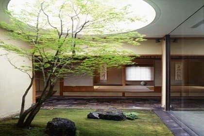 Bố trí giếng trời và mái che hợp lý giúp thiết kế nội thất nhà phố Quận 7 thêm ấn tượng