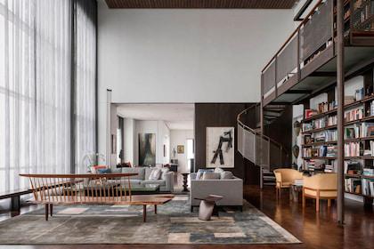 3 Mẫu thiết kế thi công nội thất phòng khách Penthouse đẳng cấp không thể bỏ qua
