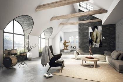 Ứng dụng phong cách đô thị hiện đại, thông minh cho thiết kế nội thất nhà phố Tân Bình
