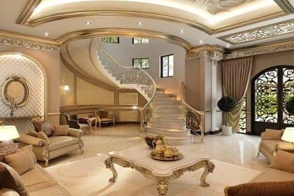 Thiết kế nội thất village Bình Thạnh theo phong cách Luxury xa hoa, đẳng cấp