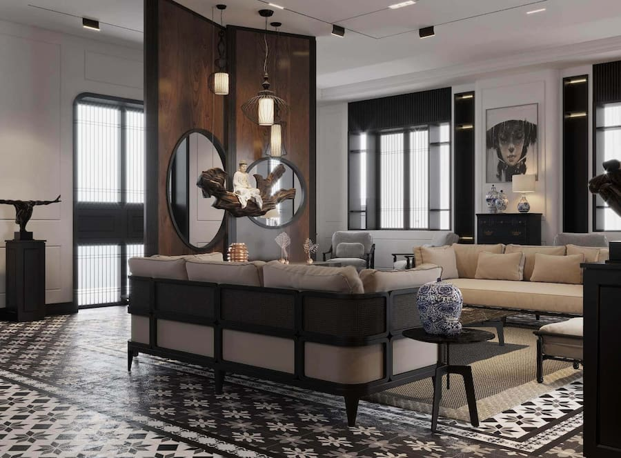 thi-cong-noi-that-can-ho-penthouse-phong-cach-indochine_01