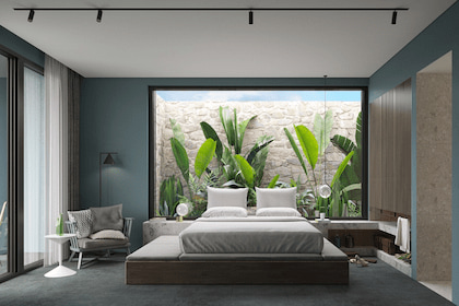 5 thay đổi trong thi công thiết kế nội thất nhà phố quận 4 giúp phòng ngủ thêm tiện nghi và thư giãn hơn