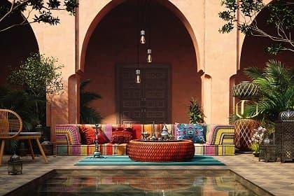 Thi công nội thất biệt thự Phú Nhuận ấn tượng, độc đáo với 3 điều thú vị về phong cách Moroccan