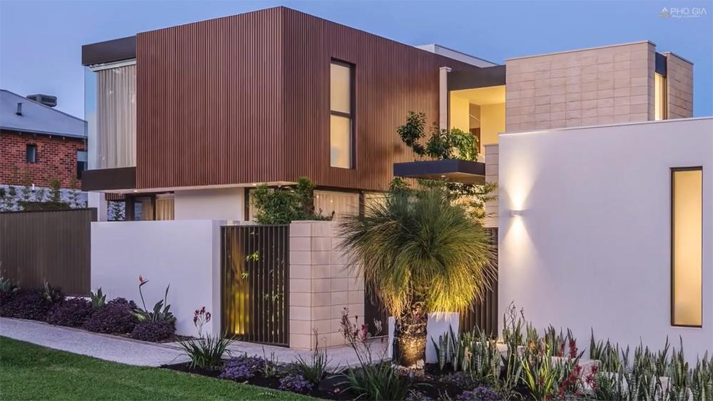 Kiến trúc villa biệt thự bình dương