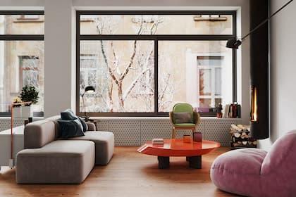Thi công thiết kế nội thất nhà phố quận 1 mách bạn 3 cách phối màu đơn giản mà đẹp mắt