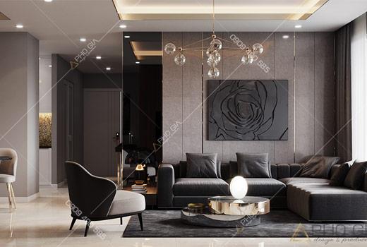 Thiết kế nội thất căn hộ XI Grand Court hiện đại