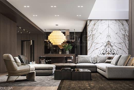 Thiết kế nội thất biệt thự Phú Mỹ Hưng