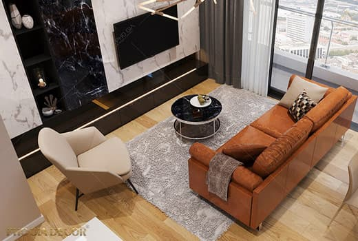 Thiết kế nội thất căn hộ Gateway – Q2