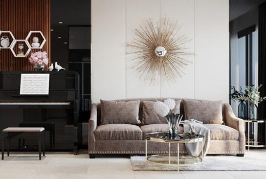 Thiết kế nội thất căn hộ Hà Đô Centrosa Orchid 1