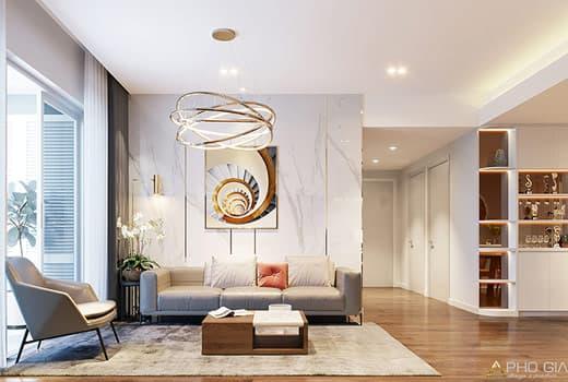 Thiết kế nội thất căn hộ Riveside Q7 tinh tế