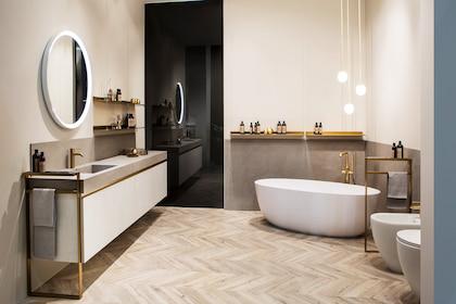 Giải pháp nhà tắm trong thiết kế thi công nội thất nhà phố quận 9