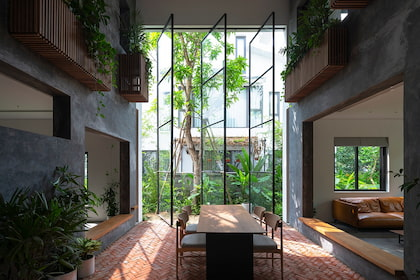 ECV Villa - không gian thú vị và ngập tràn cảm hứng ẩn hiện sau những lớp cây xanh