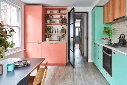 Bí kíp cho bếp nhỏ lý tưởng khi thiết kế nội thất chung cư 52m2
