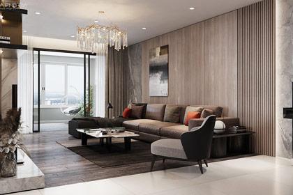 Thiết kế nội thất phòng khách chuyên nghiệp và hiện đại