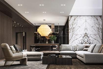 Xu hướng thiết kế nội thất căn hộ chung cư 110m2 nào sang trọng và luôn sáng thoáng?